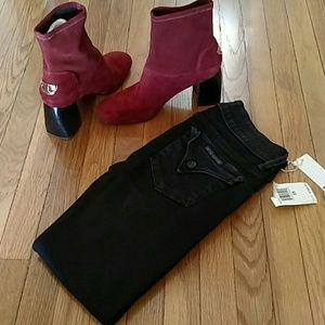 New Hudson's Collins Skinny jeans size 25